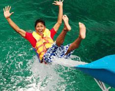 Slide di Bali Funship Cruise
