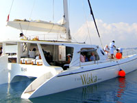 The Waka1 Bali Private Cruise | The Waka Bali Private Boat