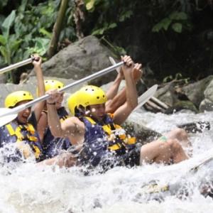 rafting bali adventure